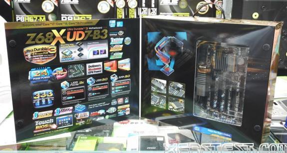 Материнская плата Gigabyte GA-Z68X-UD7-B3