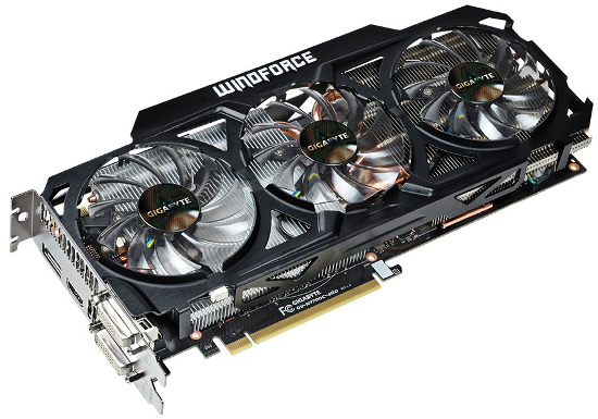 Gigabyte GeForce GTX 770 WindForce 3X 4 Гбайт