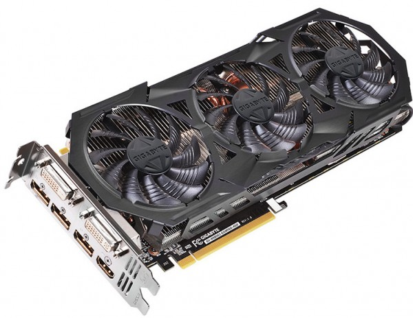Gigabyte GeForce GTX 970 WindForce OC (GV-N970WF3OC-4GD)