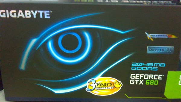 Gigabyte GeForce GTX 680