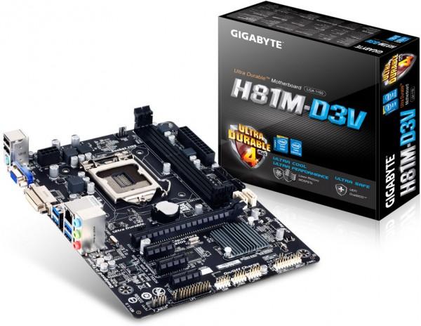 Gigabyte H81M-D3V