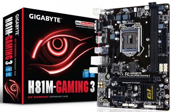 Gigabyte H81M-Gaming 3