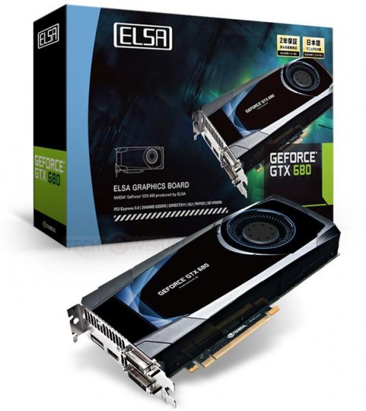 Gladiac GeForce GTX 680
