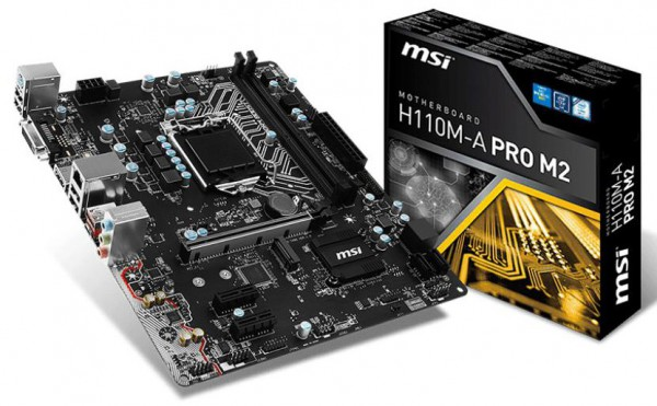 MSI H110M-A PRO M2