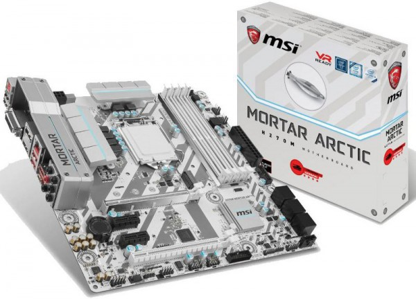 MSI H270M Mortar Arctic Edition