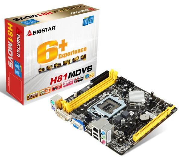 Biostar H81MDV5