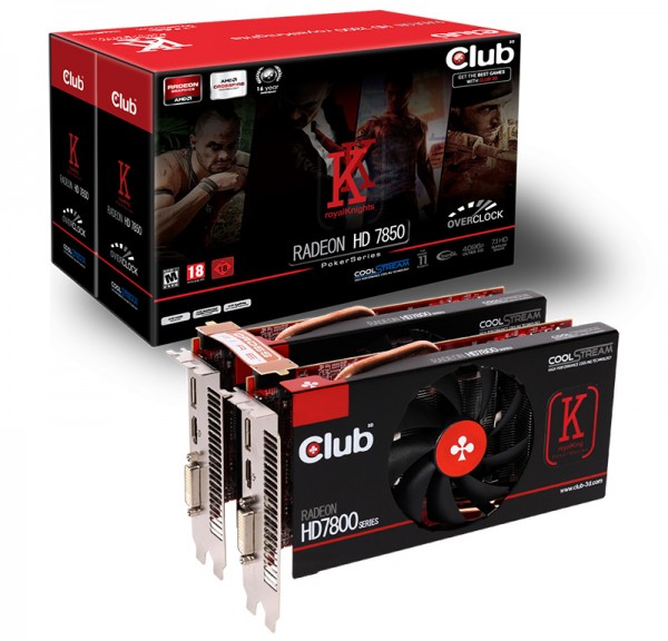 Club 3D Radeon HD 7850 royalKnights