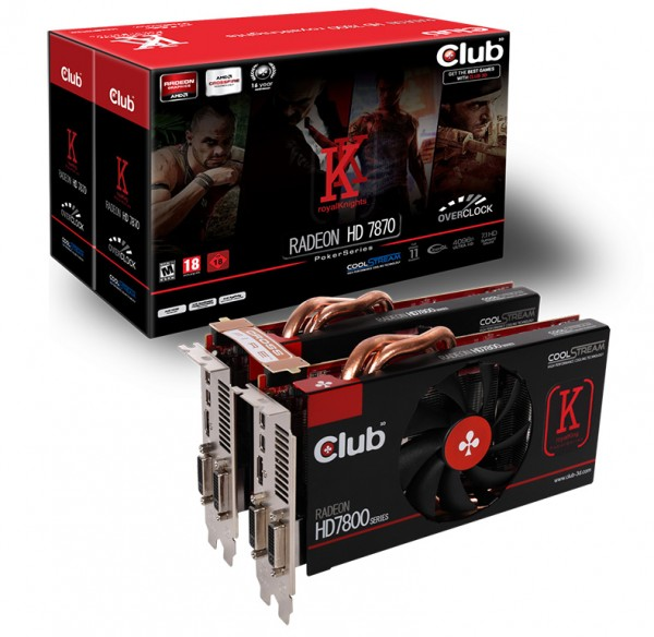 Club 3D Radeon HD 7870 royalKnights