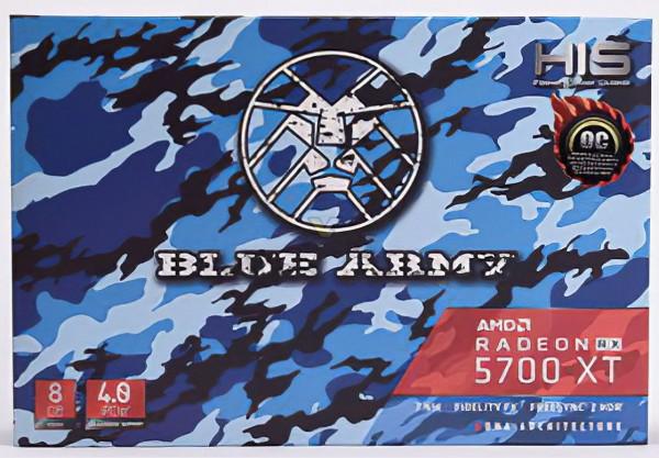 HIS Radeon RX 5700 XT Blue Army