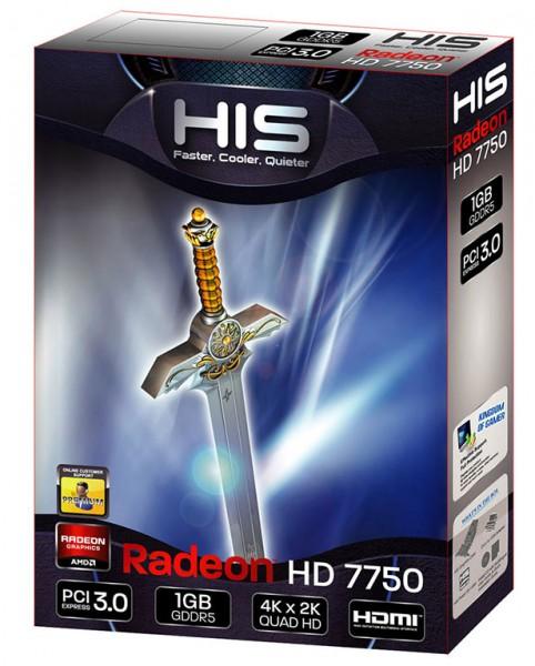 HIS Radeon HD 7750 iCooler