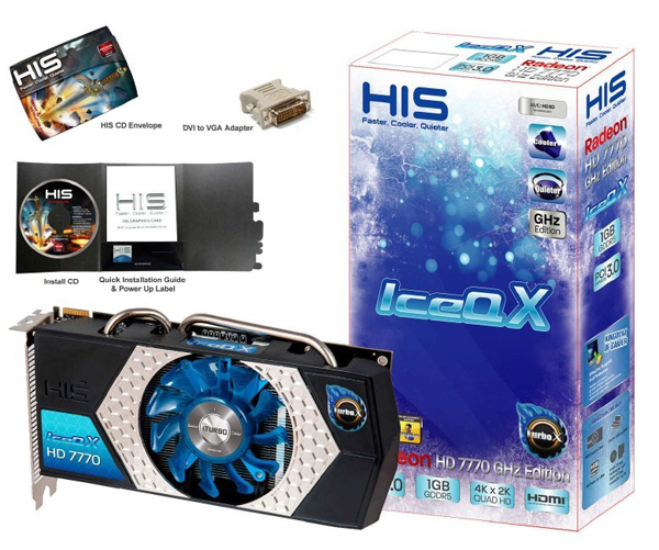 HIS Radeon HD 7770 IceQ X iTurbo X