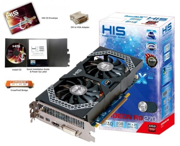 HIS Radeon R9 270 IceQ X²