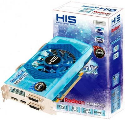 HIS Radeon HD 6770 IceQ X Turbo