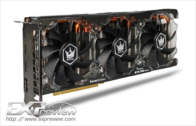 Galaxy GeForce GTX 580 Hall of Fame Edition