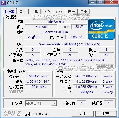 Intel Haswell Core i5