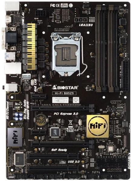 Biostar Hi-Fi B85Z5