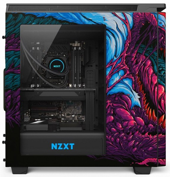 NZXT H440 Hyper Beast Limited Edition