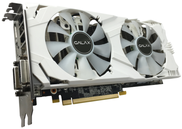 GALAX GeForce GTX 1060 EX OC White 6GB