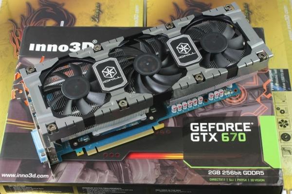 Inno3D GeForce GTX 670 iChill HerculeZ
