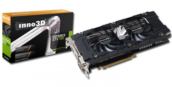 Inno3D GeForce GTX 760 HerculeZ 2000 4 GB