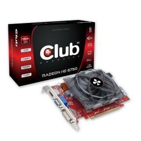 Видеокарта Club 3D Radeon HD 6750 1 ГБ GDDR5