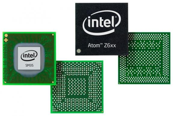 Процессор Intel Atom Z670 и чипсет SM35 Express