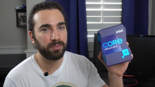 Распаковка Intel Core i9-11900K BOX