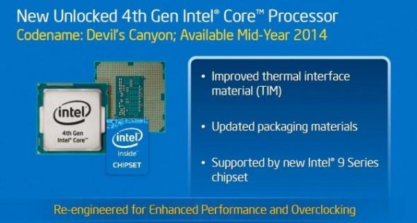 Intel Devil's Canyon и Pentium Anniversary Edition
