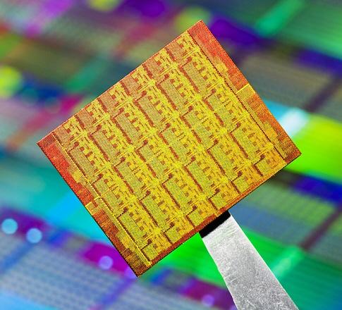 Снимок кристалла SCC