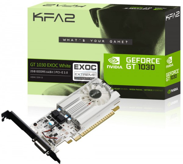 KFA2 GeForce GT 1030 EXOC White