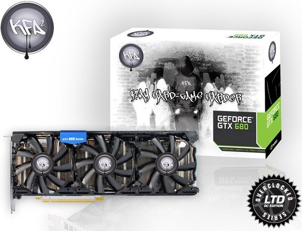 KFA2 GeForce GTX 680 HOF Edition