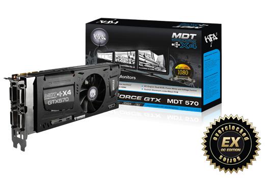 KFA2 GeForce 570 MDT X4 EX OC