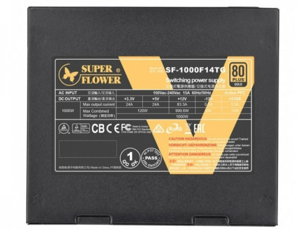 Super Flower LEADEX V Gold PRO 1000W