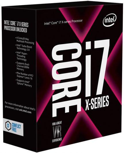 Intel Core i5-7640X и Core i7-7740X