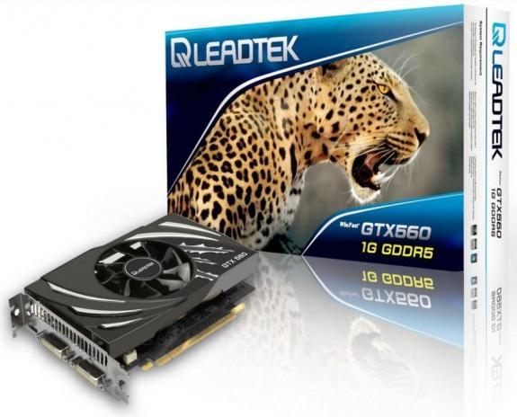 Видеокарта Leadtek WinFast GTX 560