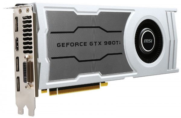 MSI GeForce GTX 980 Ti V1