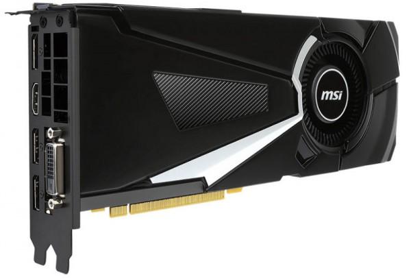 MSI GTX 1070 AERO