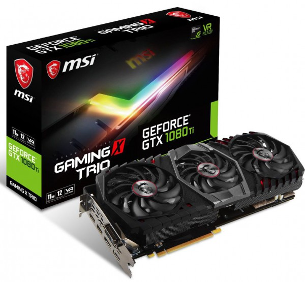 MSI GeForce GTX 1080 Ti Gaming X Trio