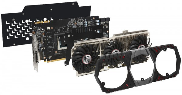 MSI GeForce GTX 1080 Ti Gaming X Trio