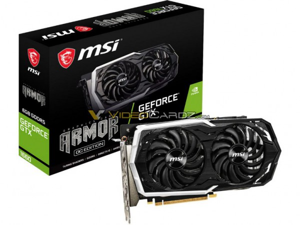 MSI GeForce GTX 1660