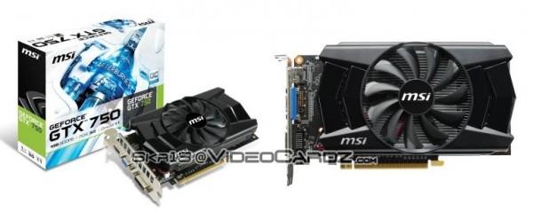 MSI GeForce GTX 750