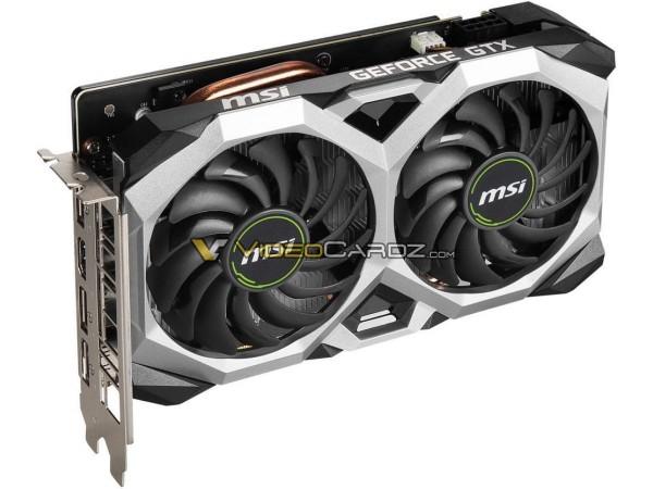 MSI GeForce GTX 1660 SUPER Ventus XS OC