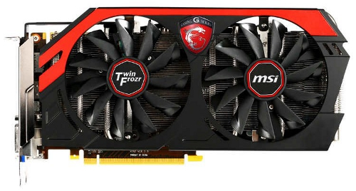 MSI GeForce GTX 760 Twin Frozr Gaming