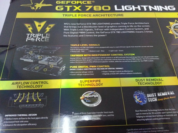 MSI GeForce GTX 780 Lightning