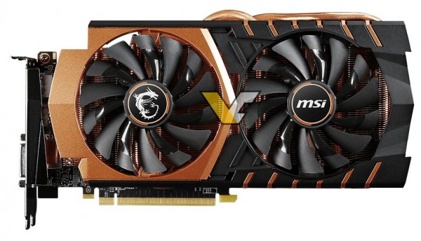 MSI GeForce GTX 970 Gaming Golden Edition
