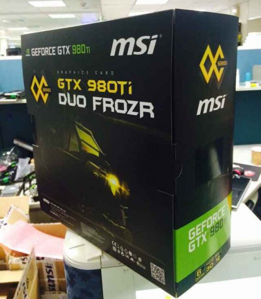 MSI GeForce GTX 980 Ti DuoFrozr