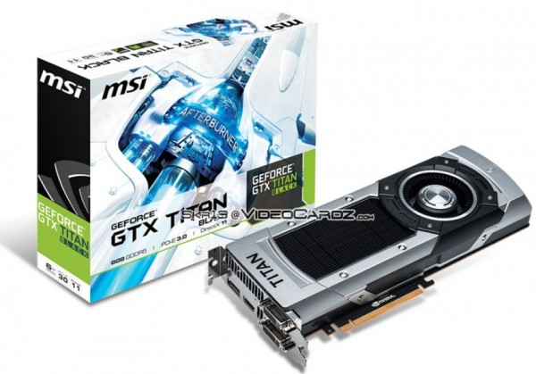 MSI GeForce GTX TITAN Black Edition