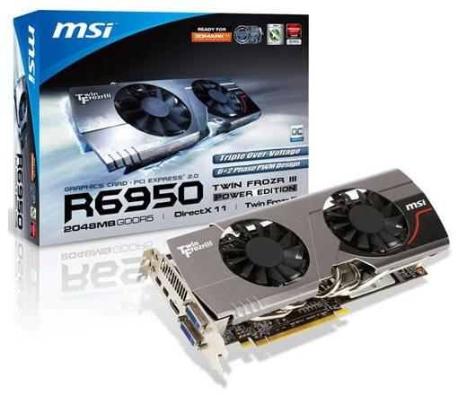 Видеокарта MSI R6950 Twin Frozr III Power Edition
