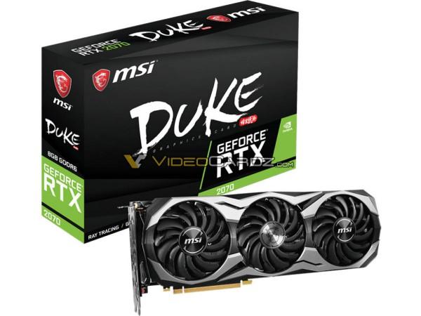 MSI GeForce RTX 2070 DUKE