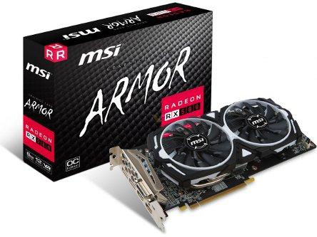 MSI, Radeon RX 580, ARMOR